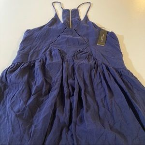 Romeo & juliet couture dress navy blue new women's